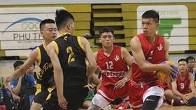 3人籃球賽比賽一瞥。
