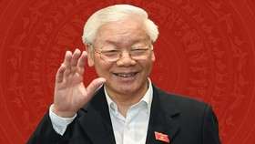 黨中央總書記、國家主席阮富仲。(圖源:VGP)
