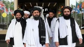 圖為阿富汗塔利班代表團。(圖源:互聯網)