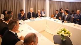 巴西亞馬遜法定地區各州州長13日與德國、挪威和英國駐巴西大使在巴西利亞召開會議後決定,將在未來幾天宣布恢復「亞馬遜基金」撥款。(圖源:互聯網)