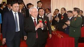 總書記、國家主席阮富仲出席儀式。(圖源:越通社)