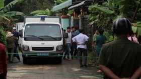 警方嚴密封鎖現場。(圖源:香芝)