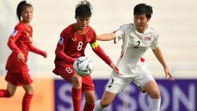 女子U16越南-朝鮮比賽一瞥。(圖源:互聯網)