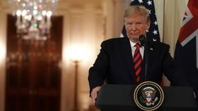 美國總統特朗普當地時間20日在白宮宣佈,對伊朗中央銀行實施制裁。(圖源:Getty Images)