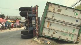 Vụ 3 người chết thảm dưới thùng xe container: Khởi tố tài xế