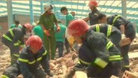 Sự cố sập bức tường ở Vĩnh Long:  thêm một nạn nhân tử vong