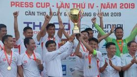 Đội VTV vô địch tại Chung kết Press Cup 2019