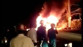 Viện Khoa học hình sự vào cuộc vụ xe khách cháy trơ khung ở Sóc Trăng
