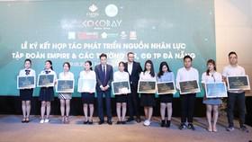 Ký kết phát triển nguồn nhân lực du lịch Đà Nẵng