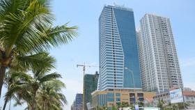 Tổ hợp Khách sạn Mường Thanh và Căn hộ chung cư cao cấp Sơn Trà tự ý chuyển đổi công năng. Ảnh: NGUYÊN KHÔI