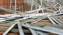 Sập công trình nhà xưởng THACO ở Quảng Nam, 2 người chết, 2 người bị thương