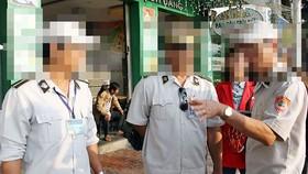 Lực lượng quy tắc đô thị ở Đà Nẵng. Ảnh: Báo Đà Nẵng