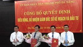 Ông Trần Phước Sơn sang  chức Giám đốc Sở KH-ĐT, thay cho ông Trần Văn Sơn vừa được điều động sang làm Phó Ban Nội chính Thành ủy