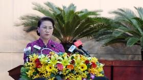 """Chủ tịch QH Nguyễn Thị Kim Ngân: Đà Nẵng phải là """"thành phố thông minh"""""""