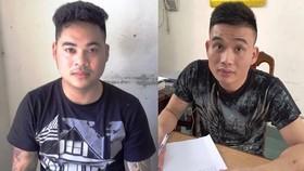 Hai đối tượng Lê Văn Tùng và Vi Quang Vinh