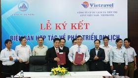 Đà Nẵng và Vietravel Việt Nam ký kết hợp tác phát triển du lịch