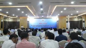 Toàn cảnh hội thảo tập huấn Đánh giá mức độ ứng dụng Công nghệ thông tin (CNTT) tại các cơ sở khám chữa bệnh