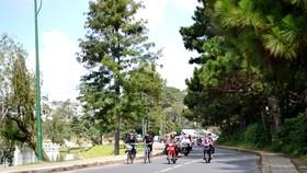 Hơn 35 tỷ đồng cải tạo đường quanh hồ Xuân Hương - Đà Lạt