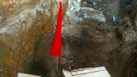 Đào móng công trình, phát hiện kho đạn pháo