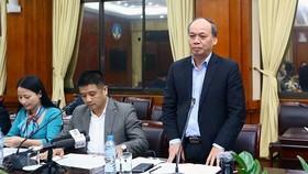 Thứ trưởng Vũ Văn Tám chủ trì cuộc họp báo thông báo về sự kiện Luật Thủy sản năm 2017 được thông qua là cơ hội để tháo gỡ thẻ vàng cho xuất khẩu hải sản VN sang EU hiện nay