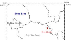 Động đất dồn dập tại tỉnh Điện Biên