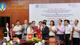 Thụy Sỹ tài trợ 365.000 Franc giúp Việt Nam sản xuất lúa