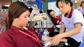Trường ĐH Nguyễn Tất Thành hiến tặng hơn 2.000 đơn vị máu mỗi năm