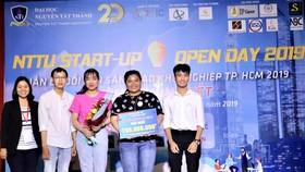 Sinh viên Trường ĐH Nguyễn Tất Thành giành giải nhất cuộc thi Ý tưởng khởi nghiệp sáng tạo 2019