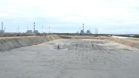 Bãi chứa tro xỉ than Nhà máy Nhiệt điện Vĩnh Tân 2