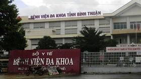 Bệnh viện Đa khoa tỉnh Bình Thuận.
