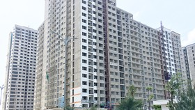 A resettlement apartment block in Thu Thiem new urban area in Mai Chi Tho street, District 2, HCMC (Photo: SGGP)