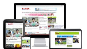Sai Gon Giai Phong's new online version officially launched