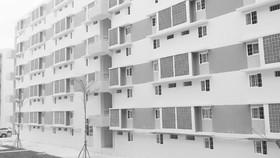 Social housing building in Binh Duong province (Photo: SGGP)