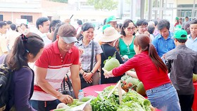 Dau Giay wholesale market comes into operation in Dong Nai (Photo: SGGP)