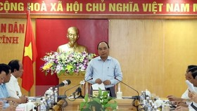 Environmental protection must be considered the decisive factor in future operations of the Hung Nghiep Formosa Ha Tinh Iron and Steel Co (FHS), Prime Minister Nguyen Xuan Phuc said yesterday. (Photo: VNA/VNS)