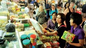 Ben Thanh market in HCMC (Photo: SGGP)