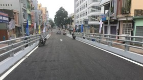 Pham Ngu Lao-Nguyen Oanh flyover branch opens to traffic on October 31 (Photo: SGGP)