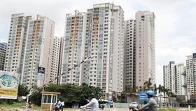 A new apartment block in HCMC (Photo: SGGP)