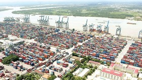 A seaport in HCMC (Illustrative  photo: SGGP)
