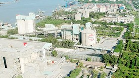 Cement plants in Nha Be district, HCMC (Photo: SGGP)