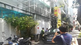 Police force searches Nguyen Thanh Tai's house