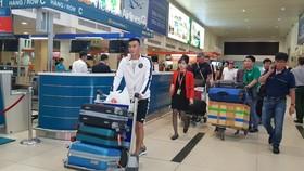 Passengers at Tan Son Nhat International Airport  (Photo: mt.gov.vn)