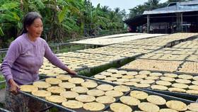 Tran Hoi dried banana village (Photo: SGGP)