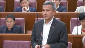 Singaporean Minister of Foreign Affairs Vivian Balakrishnan (Source: sg.news.yahoo.com)