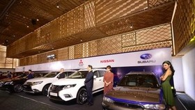 A display at Vietnam AutoExpo 2018 (Photo: VNA)