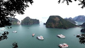 Ha Long Bay in Vietnam's northern province of Quang Ninh (Photo: VNA)