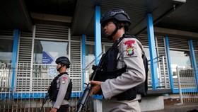 Police patrol in Jakarta (Source: VNA)