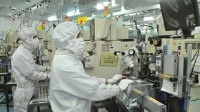 Semiconductor production at MTEX Company. (Photo: SGGP)
