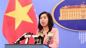Spokesperson of the Foreign Ministry Le Thi Thu Hang (Source: VNA)