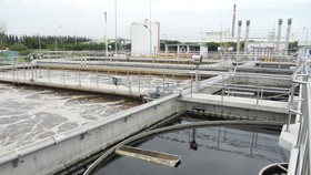 A 65,000cu.m waste water treatment plant in HCM City's Thu Duc district (File Photo)